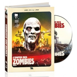 L'enfer des Zombies (Livre/BluRay/DVD)