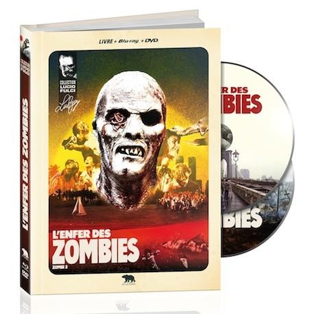 PRECOMMANDE L'enfer des Zombies (Livre/BluRay/DVD)