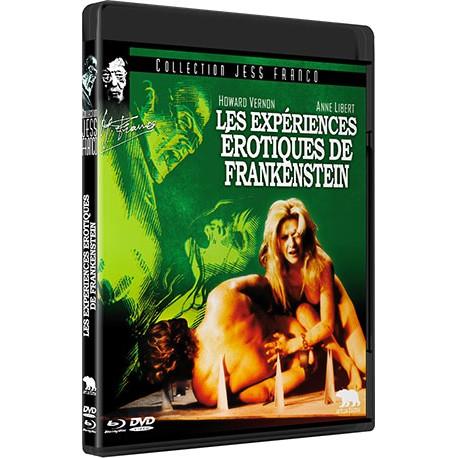 Les expériences érotiques de Frankenstein (Combo BD/DVD)