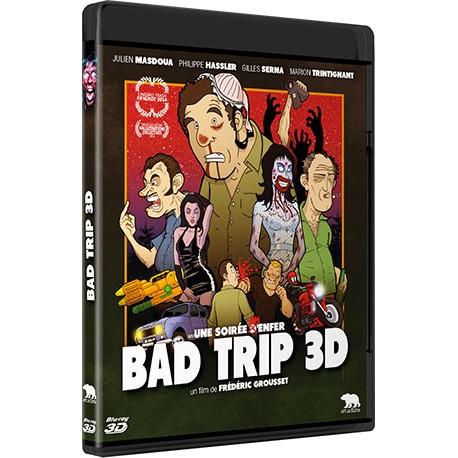 Bad Trip 3D (Blu Ray) - Préco