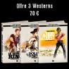 Offre Nouveauté 3 Westerns